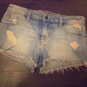 EUC Joe's Jeans Distressed Shorts